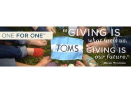 企业社会创新-TOMS:买一捐一,公益消费的可持续发展