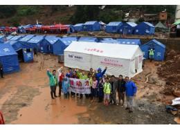 援动力——公益组织灾区工作站